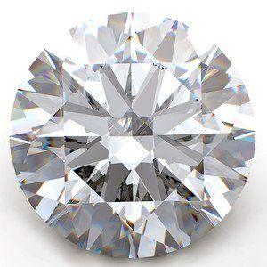GIA CERT. 1.04 CTW ROUND DIAMOND D/SI1