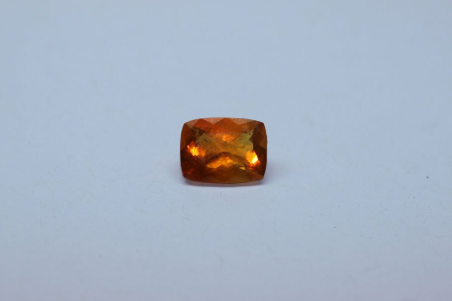 2.83 MEXICAN FIRE OPAL EMERALD CUT STONE