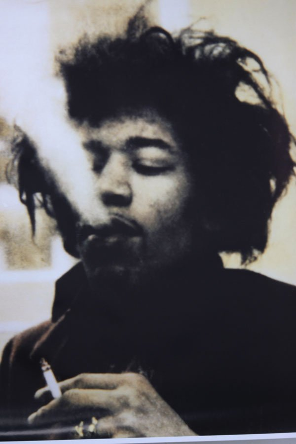 Jimi Hendrix a guitarist, songwriter, and singer