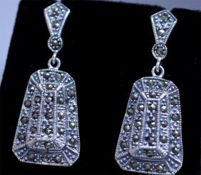 58.10 CTW ANTIQUE LOOKING JEWELRY .925 STERLING SILVER