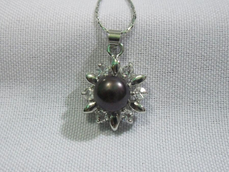 SUNNY BLACK PEARL AND CZ