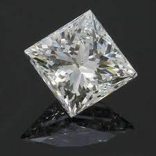 EGL CERT 0.9 CTW PRINCESS CUT DIAMOND I/SI2
