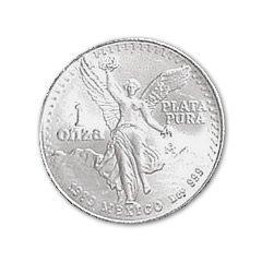 Mexican Silver Libertad 1 Ounce 1986