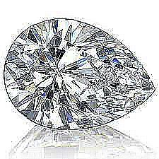 EGL CERT 0.8 CTW PEAR CUT DIAMOND E/SI2