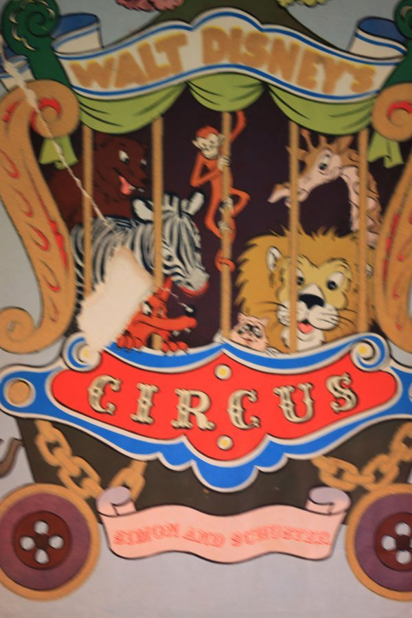 Walt Disneys Circus Book Simon and Schuster
