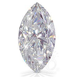 EGL CERT. MARQUISE DIAMOND 0.71 CTW E/SI1