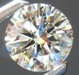 EGL ROUND DIAMOND 1.13 CTW G/SI1