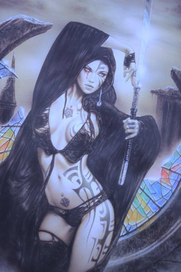 Darkly Sensual Paintings