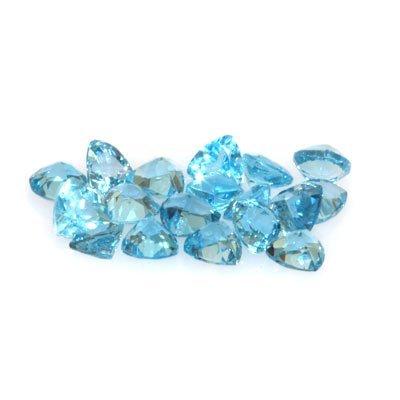 Natural Blue Topaz 9.47 ctw Trillion