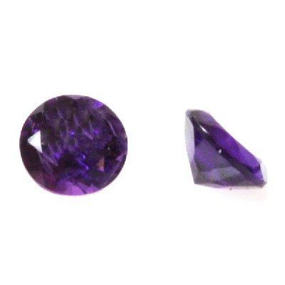 Natural 3.43ctw Amethyst Round Stone 8x8 (2)