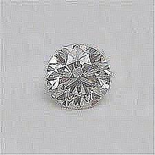 EGL CERT 0.6 CTW ROUND DIAMOND D/SI2