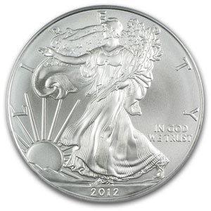 Uncirculated Silver Eagle 2012