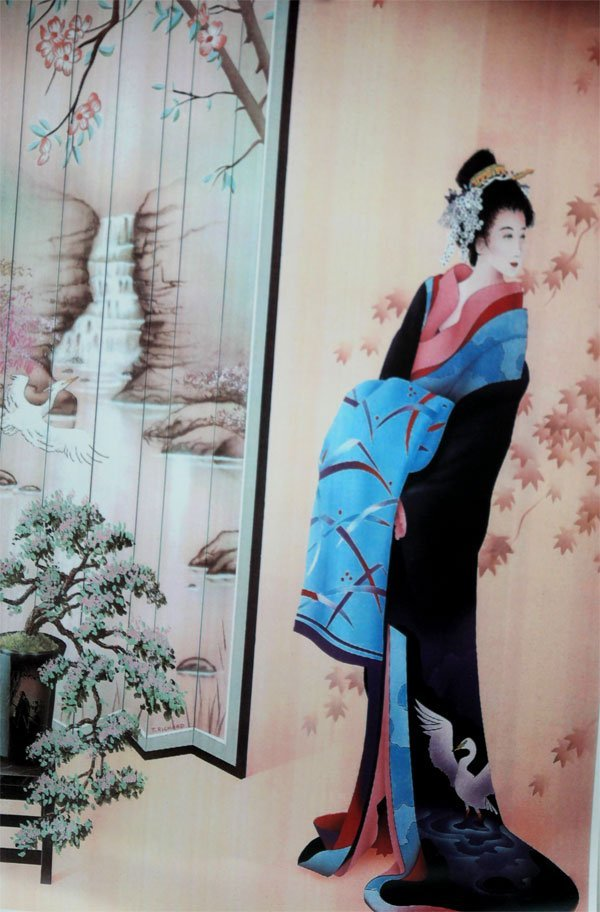 OUTSTANDING FIGURE OF JAPANESE PAINTER