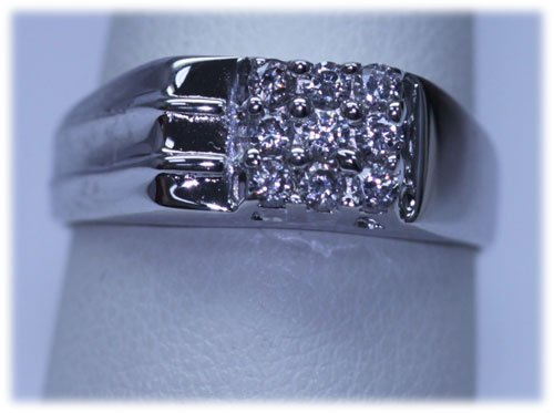 13.25 CTW CZ RING .925 STERLING SILVER