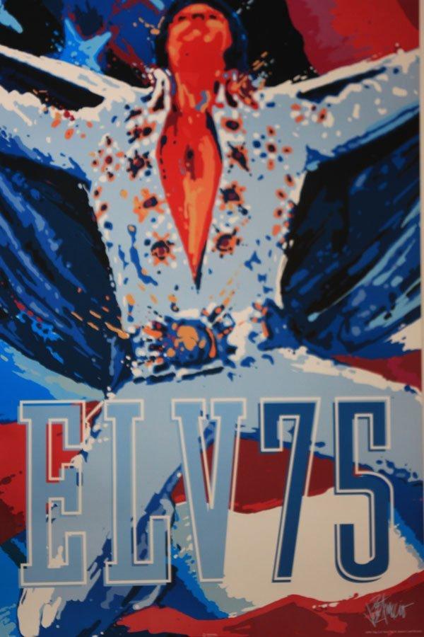 ELVIS PRESLY 75 ROCK & ROLL SINGER