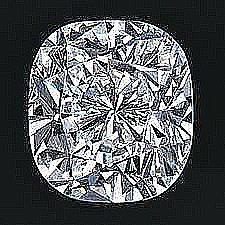 EGL CERT 0.5 CTW CUSHION DIAMOND H/SI1
