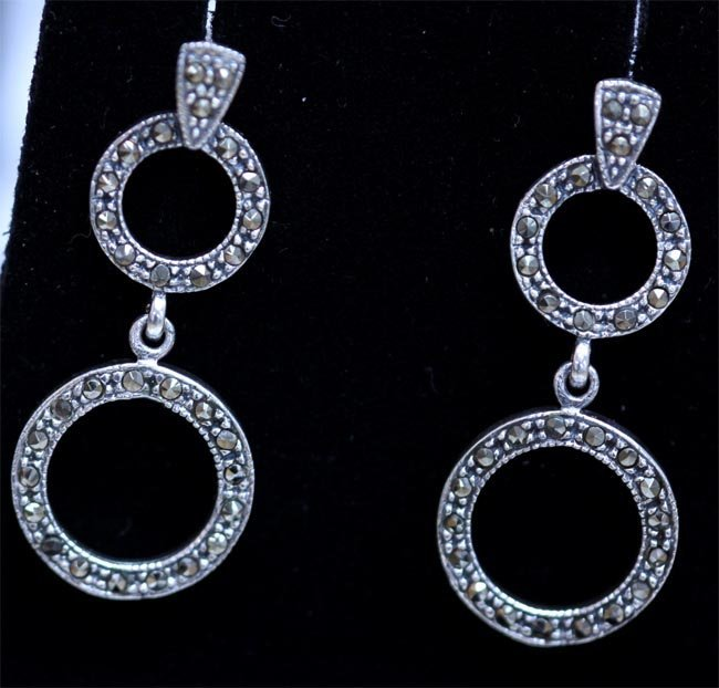 32.40 CTW ANTIQUE LOOKING JEWELRY .925 STERLING SILVER