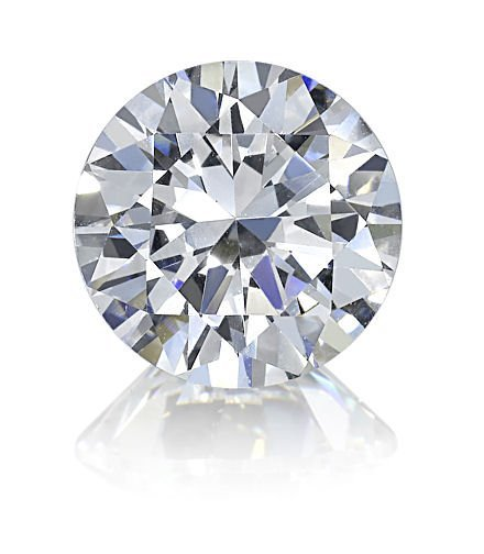 EGL ROUND DIAMOND 1.38 CTW D/SI1