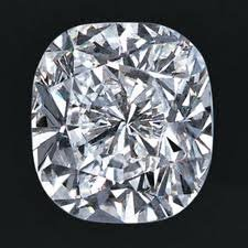 EGL CERT 0.53 CTW CUSHION DIAMOND F/SI2