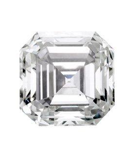 EGL CERT. ASSCHER CUT DIAMOND 2.01 CTW I/VS2