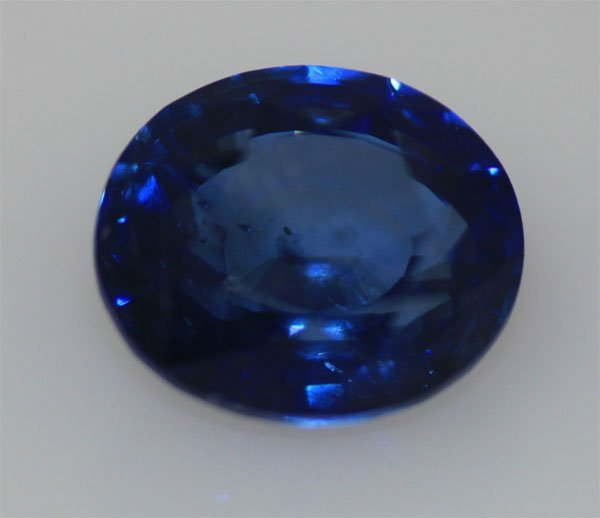 2.65 CTW BLUE SAPPHIRE OVAL LOOSE STONE