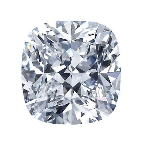 EGL CERT. CUSHION DIAMOND 1.08 CTW F/VVS2