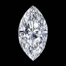 EGL CERT 1.12 CTW MARQUISE DIAMOND G/SI2