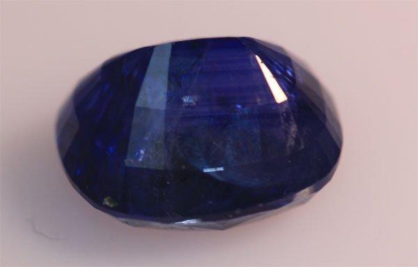 3.8 CTW BLUE SAPPHIRE OVAL LOOSE STONE
