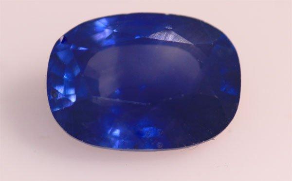 2.05 CTW BLUE SAPPHIRE OVAL LOOSE STONE