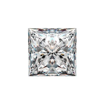 EGL CERT 1.22 CTW PRINCESS DIAMOND I/VS2