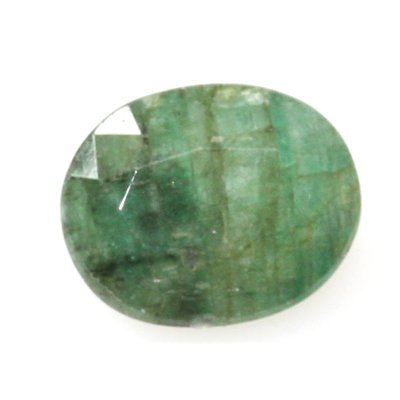 Natural 4.2ctw Emerald Oval Cut Stone
