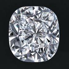 EGL CERT 0.56 CTW CUSHION DIAMOND F/SI2