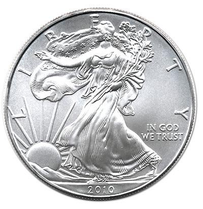 Uncirculated Silver Eagle 2010