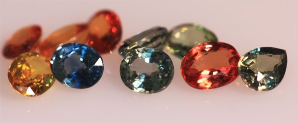 4.67 CTW MULTISAPPHIRE OVAL 5X4 mm