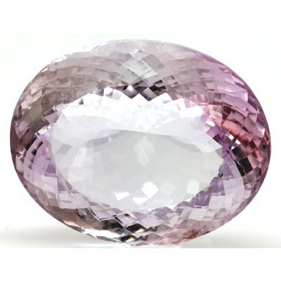 Natural Pink Amethyst Oval Cut 31x24mm 1pc/lot 79.54ctw
