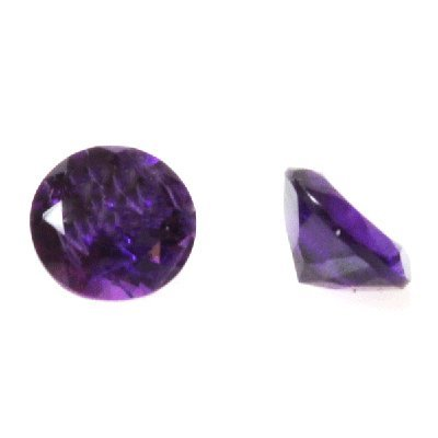 Natural 3.9ctw Amethyst Round Stone 8x8 (2)