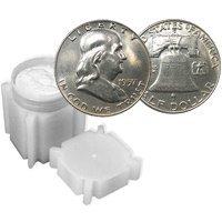 90% Silver Franklin Halves Roll AU (20pcs.)