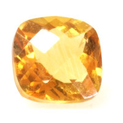 Natural 6.76ctw Citrine Checker Board Cussion 10x14