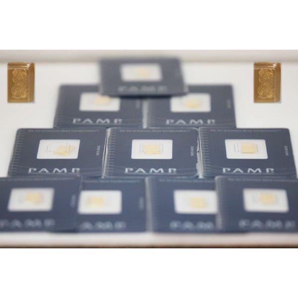 Suisse 1 gram Fine Gold (999.9) (10) pec.