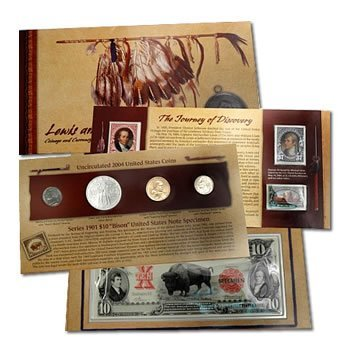 Coin & Currency Set Lewis & Clark 2004