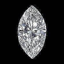 EGL CERT 0.59 CTW MARQUISE DIAMOND G/VS2
