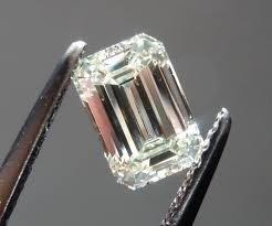 EGL CERT 0.72 CTW EMERALD CUT DIAMOND D/SI2
