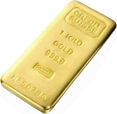 Gold Bars: One Kilo Gold Bar (Manufacturer Our Choice)