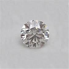 EGL CERT 0.52 CTW ROUND DIAMOND D/SI2