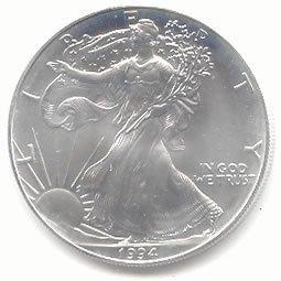 Uncirculated Silver Eagle 1994