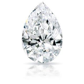 EGL CERT 1.11 CTW PEAR DIAMOND F/SI2