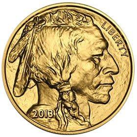 Uncirculated Gold Buffalo Coin One Ounce 2013