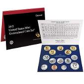 Uncirculated Mint Set 2012