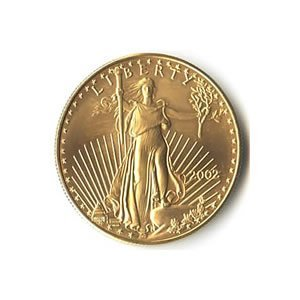 US American Gold Eagle Uncirculated One-Tenth Ounce DAT