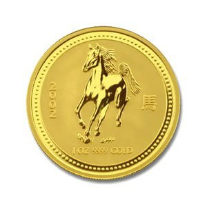 Australian Lunar Gold 1 oz Gold Snake (Date of our choi